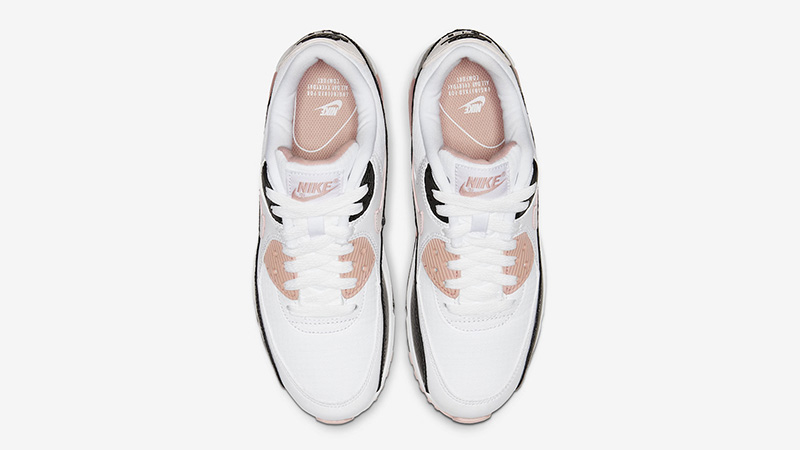 Nike Air Max 90 White Pink middle