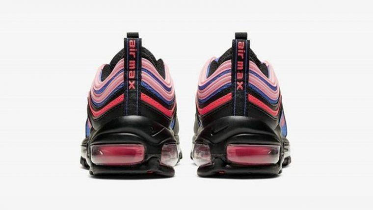 Nike Air Max 97 Black Pink back thumbnail image