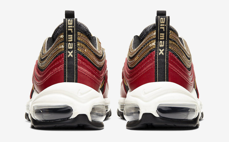 Nike Air Max 97 Red Glitter