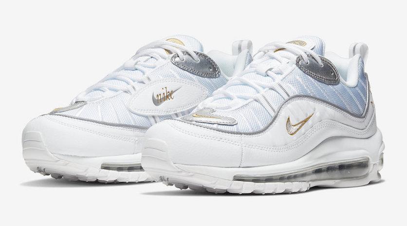 Nike-Air-Max-98-White-Silver