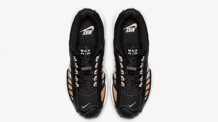 Nike Air Max Tailwind 4 Black Stardust CJ7976-001 middle thumbnail image
