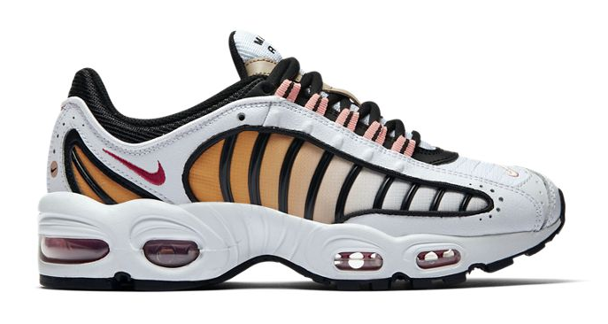 Nike Air Max Tailwind Coral White side