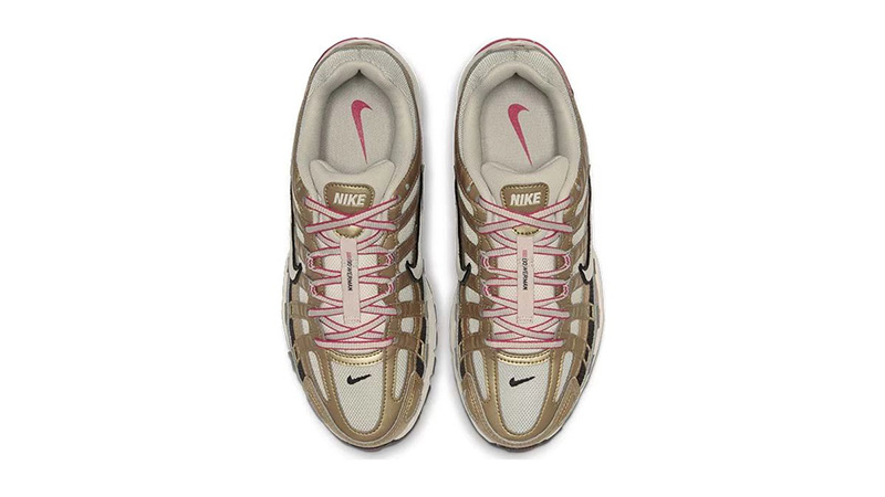 Nike P-6000 Gold White BV1021-007 middle