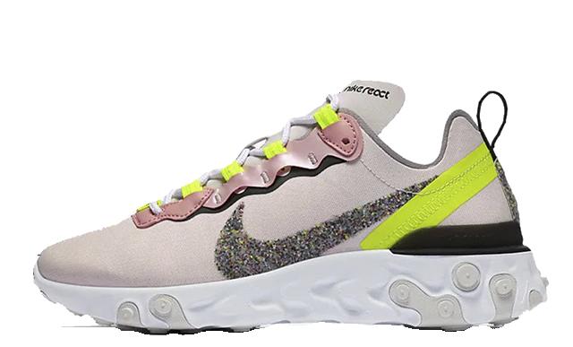 Nike React Element 55 Premium Pink Grey CD6964-600