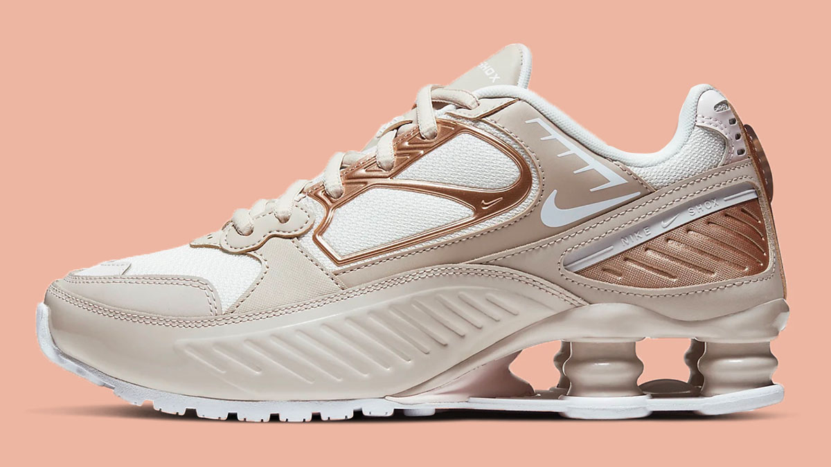 Bronze Panels Bring A Feminine Touch To The Nike Shox Enigma ...