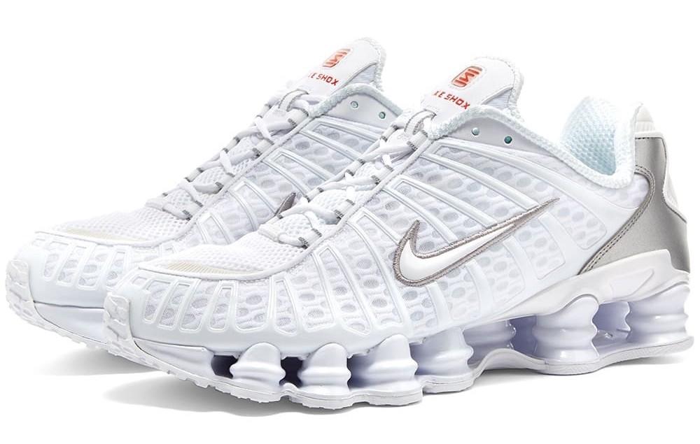 Nike Shox TL triple white
