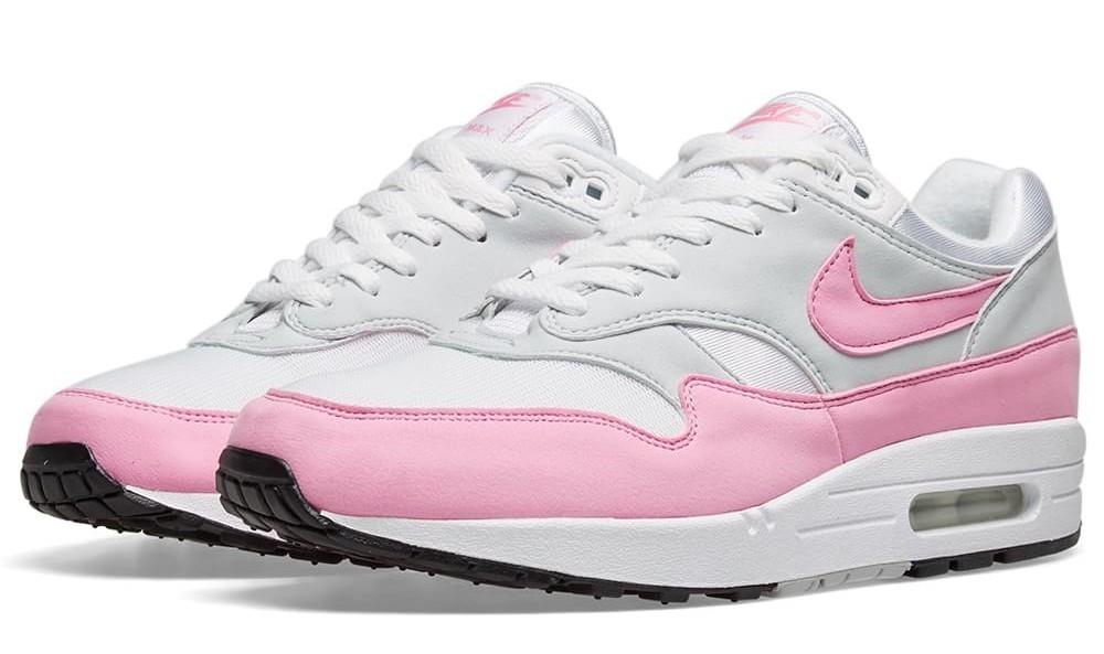 Nike air max 1 pink white