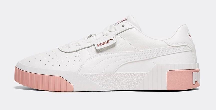 Puma Cali Pink White