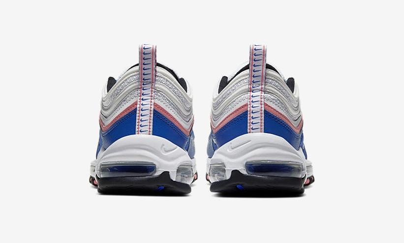 Swoosh Detailing Updates This Nike Air Max 97 In Bubblegum Pink & Blue 2 heel