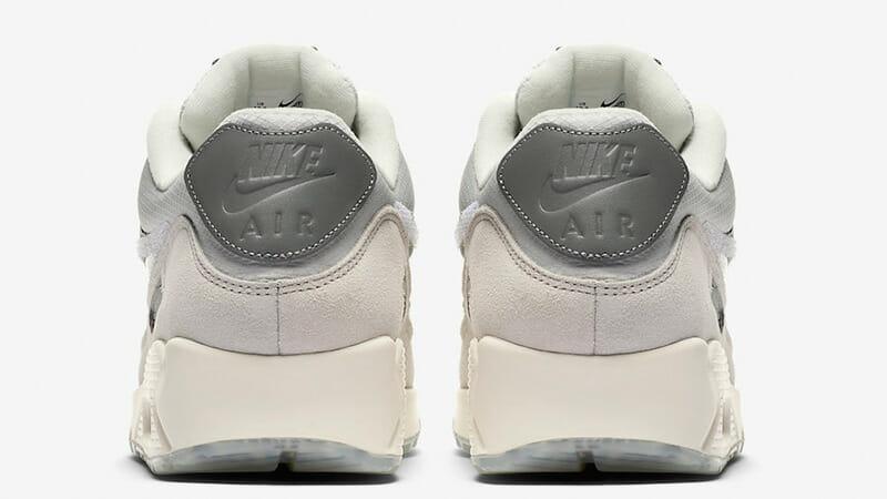 The Basement x Nike Air Max 90 City London heel