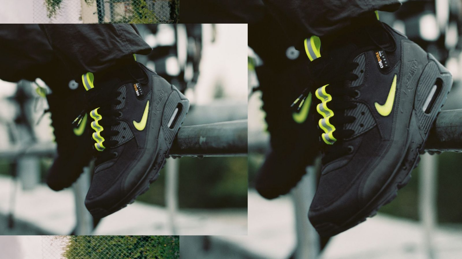 The Basement x Nike Air Max 90 Manchester side