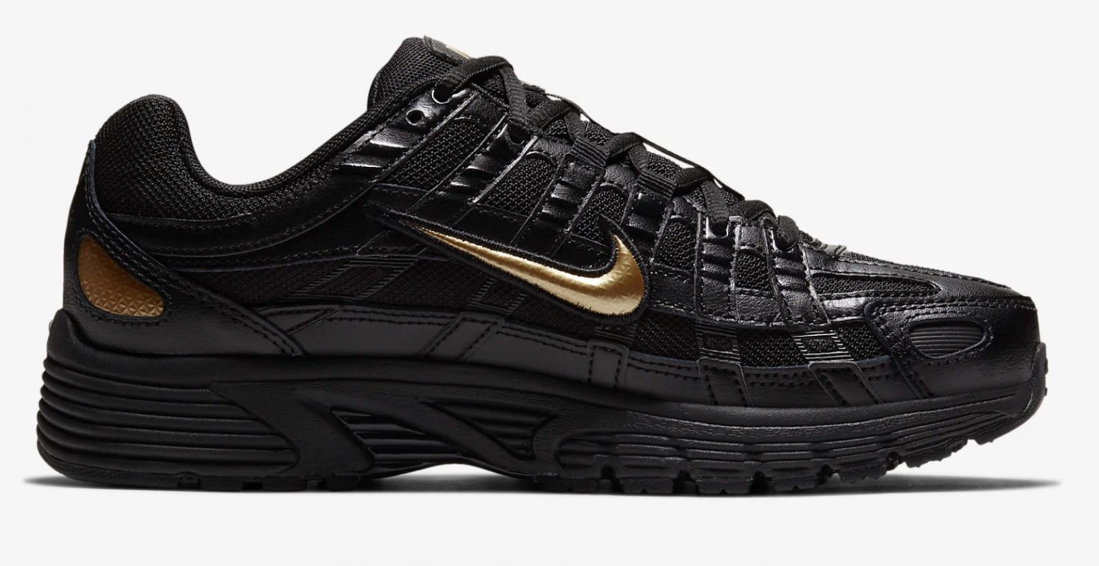 CJ9584-002 The Nike P-6000 Has Had An AW19 Makeover In Black And Gold 5 side 1