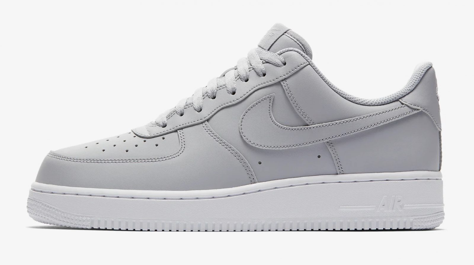 This Wolf Grey Air Force 1 Is Giving Us All The Minimal Feels 5 side 2