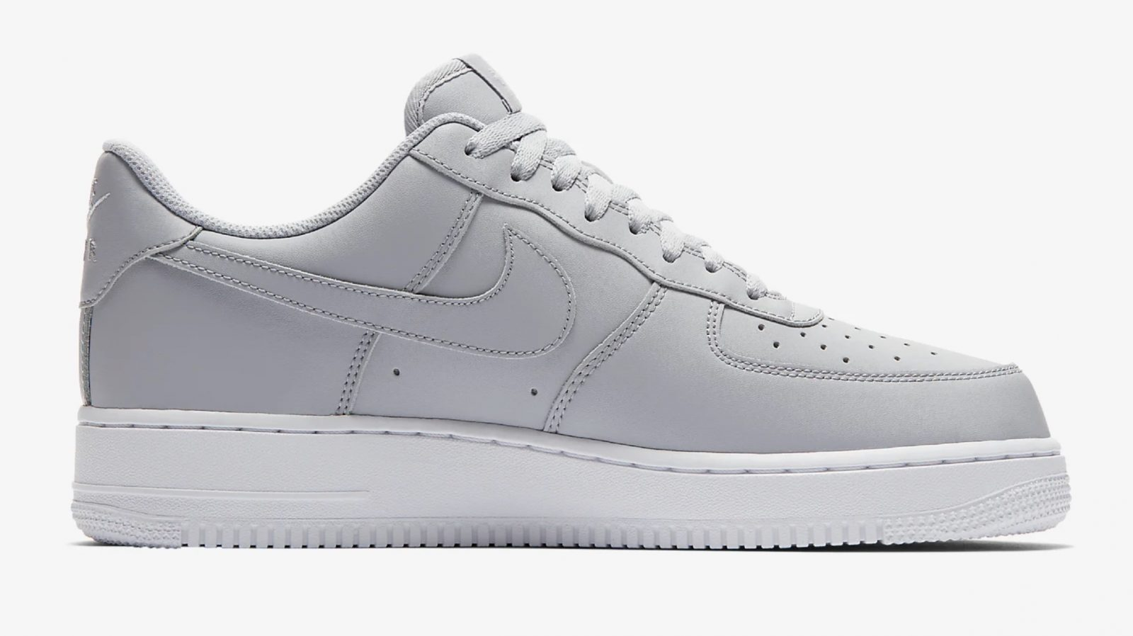 This Wolf Grey Air Force 1 Is Giving Us All The Minimal Feels 5 side 1