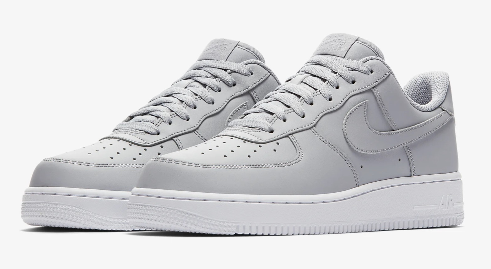 This Wolf Grey Air Force 1 Is Giving Us All The Minimal Feels 5