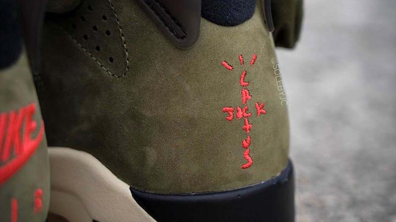 Travis Scott x Nike Air Jordan 6 Cactus Jack CN1084-200 back