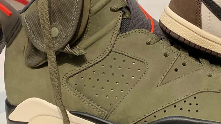 Travis Scott x Nike Air Jordan 6 Cactus Jack CN1084-200 closeup thumbnail image