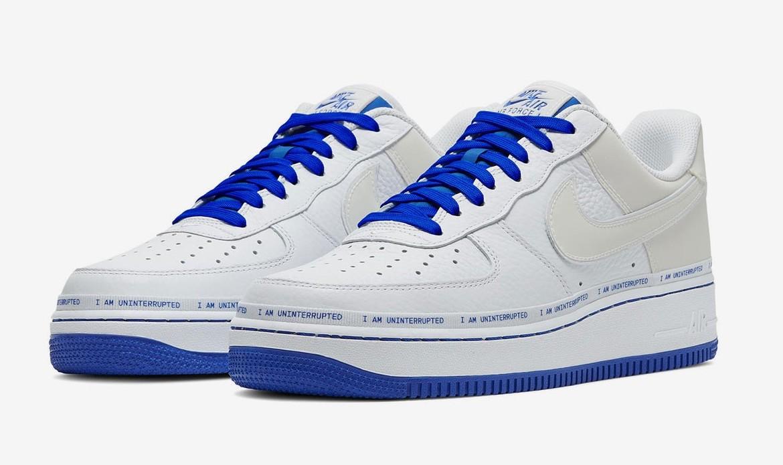 Uninterrupted x Nike Air Force 1 3