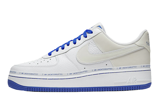 Uninterrupted x Nike Air Force 1 MTAA White CQ0494-100