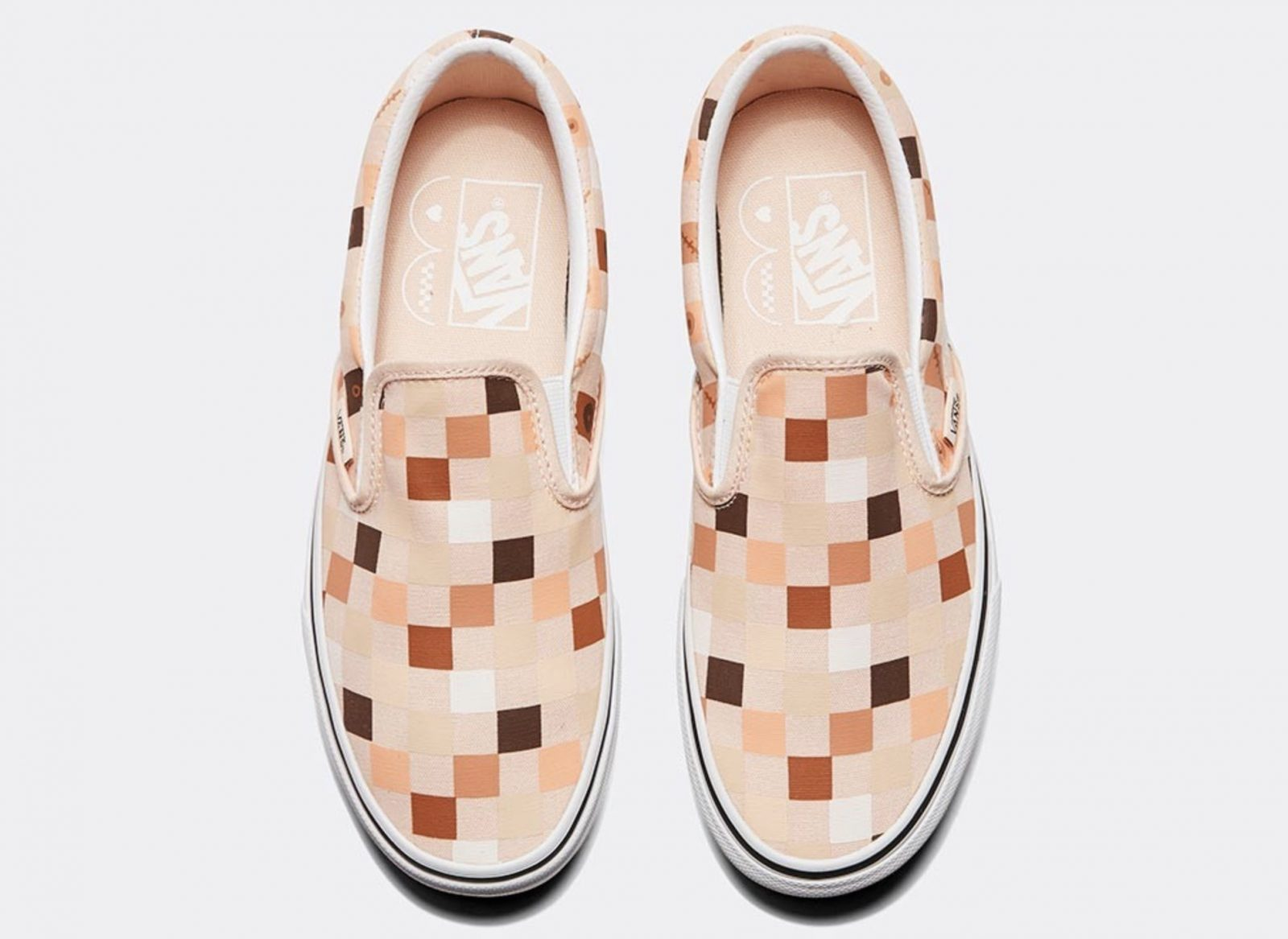 Vans Classic Slip On Breast Cancer Awareness Nude 2 above
