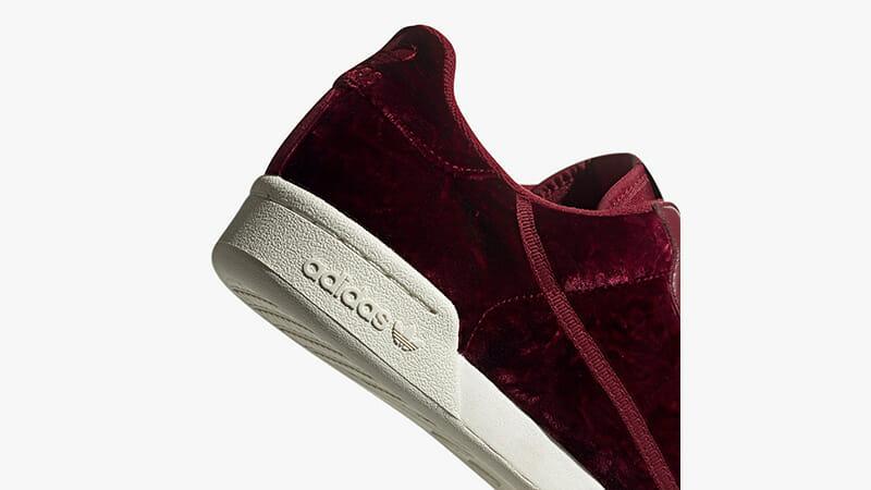 adidas Continental 80 Velvet Pack Burgundy EH0173 01