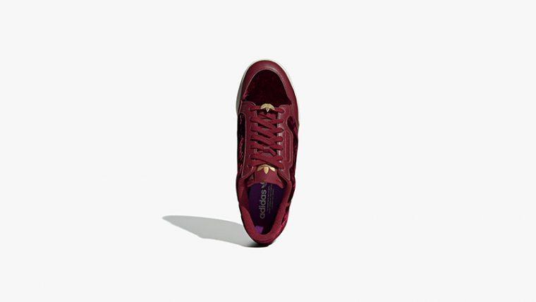 adidas Continental 80 Velvet Pack Burgundy EH0173 03 thumbnail image