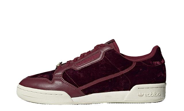 adidas Continental 80 Velvet Pack Burgundy EH0173