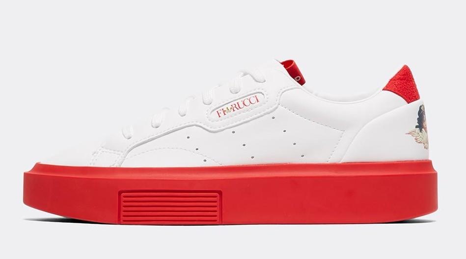 adidas Sleek Super Red White