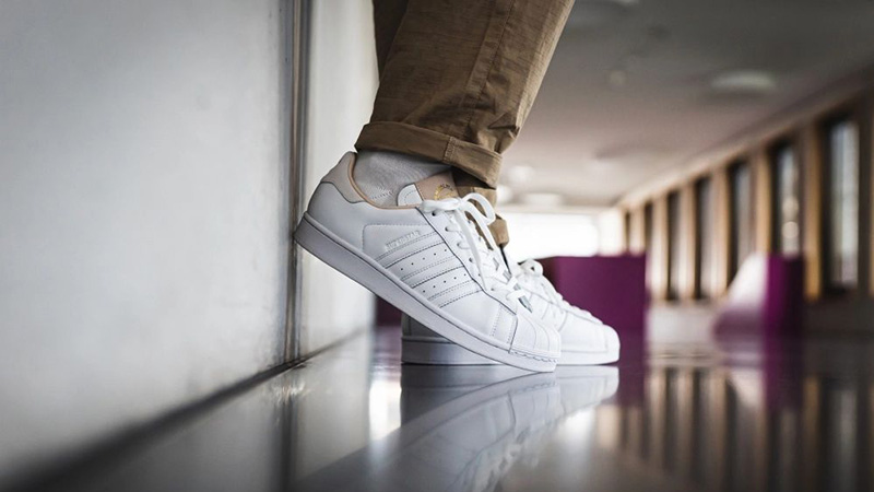 adidas Superstar Home of Classics White EF2102 on foot