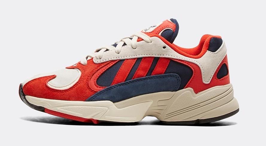 adidas Yung 1 Red Navy