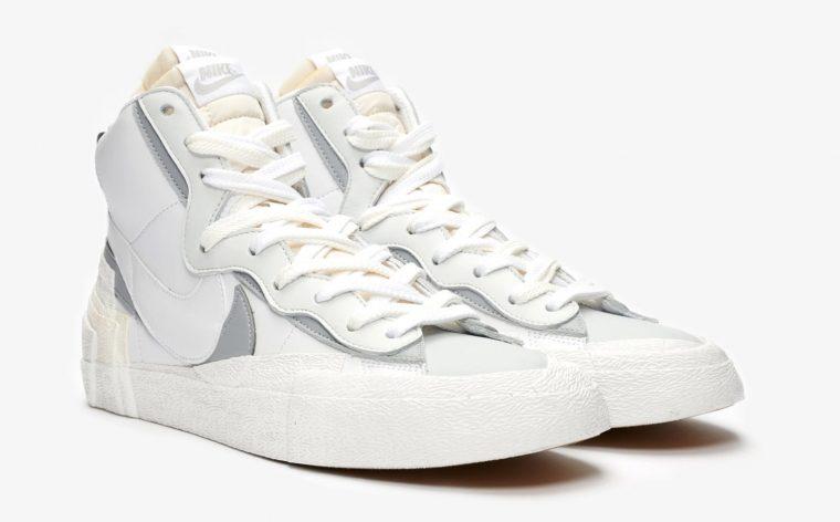 sacai x Nike Blazer Mid White | BV0072-100 1 thumbnail image