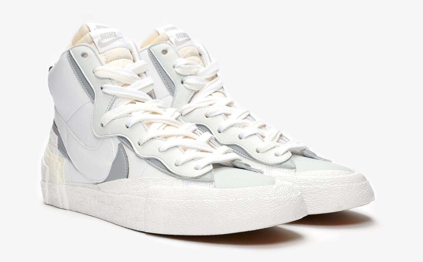 sacai x Nike Blazer Mid White | BV0072-100 1