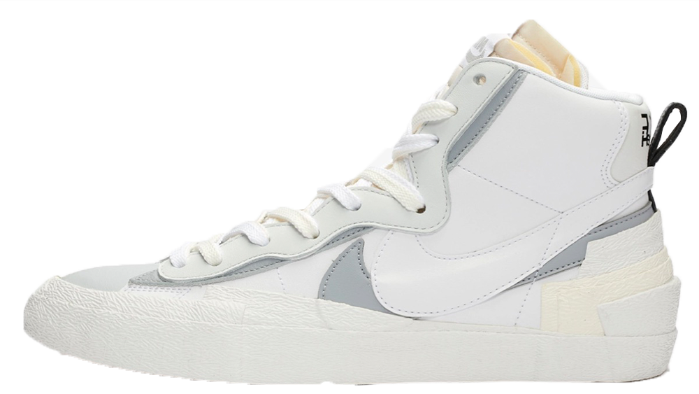 sacai x Nike Blazer Mid White | BV0072-100 1 feature