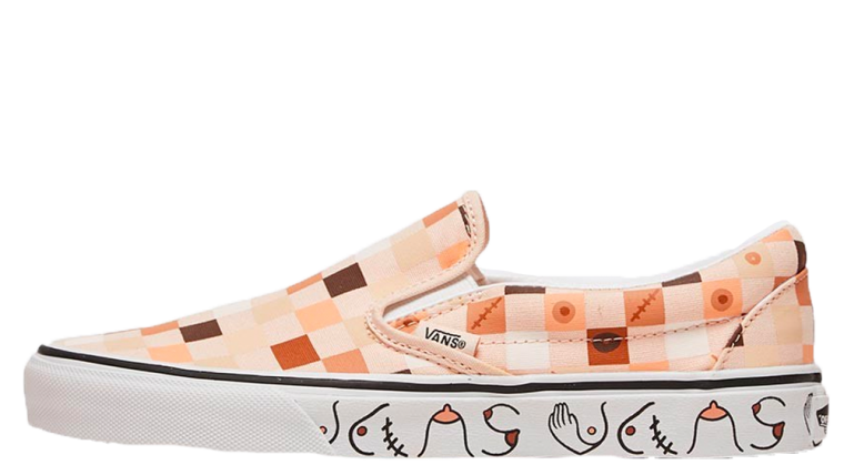 Vans Classic Slip On Breast Cancer Awareness Nude 2
