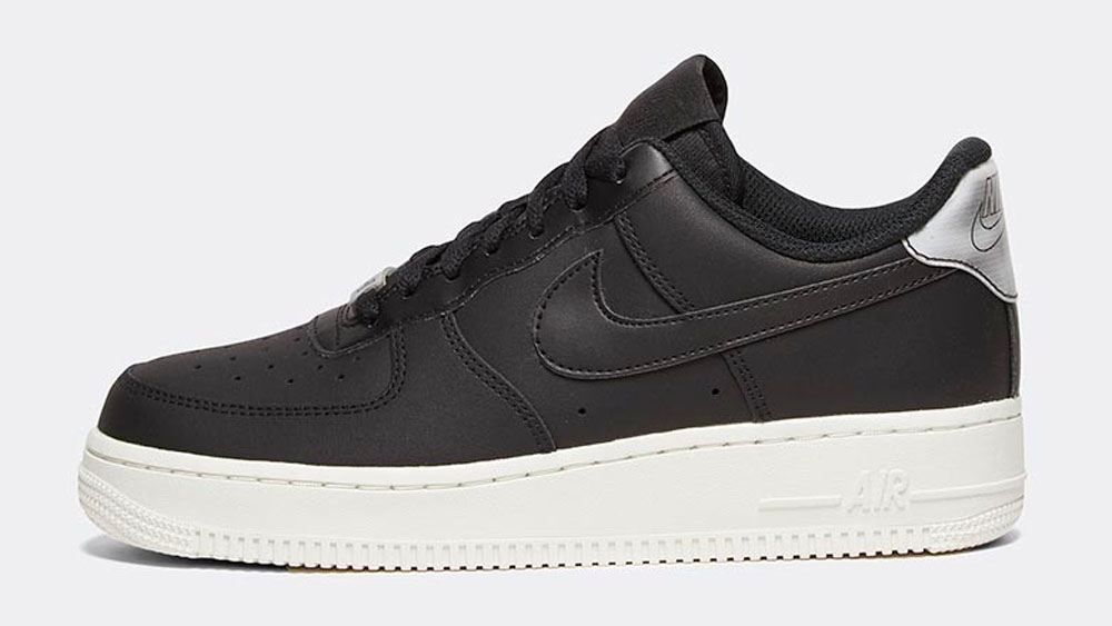 _0001_Nike Womens Air Force 1 '07 Essential Trainer _ Black _ Black _ Summit White