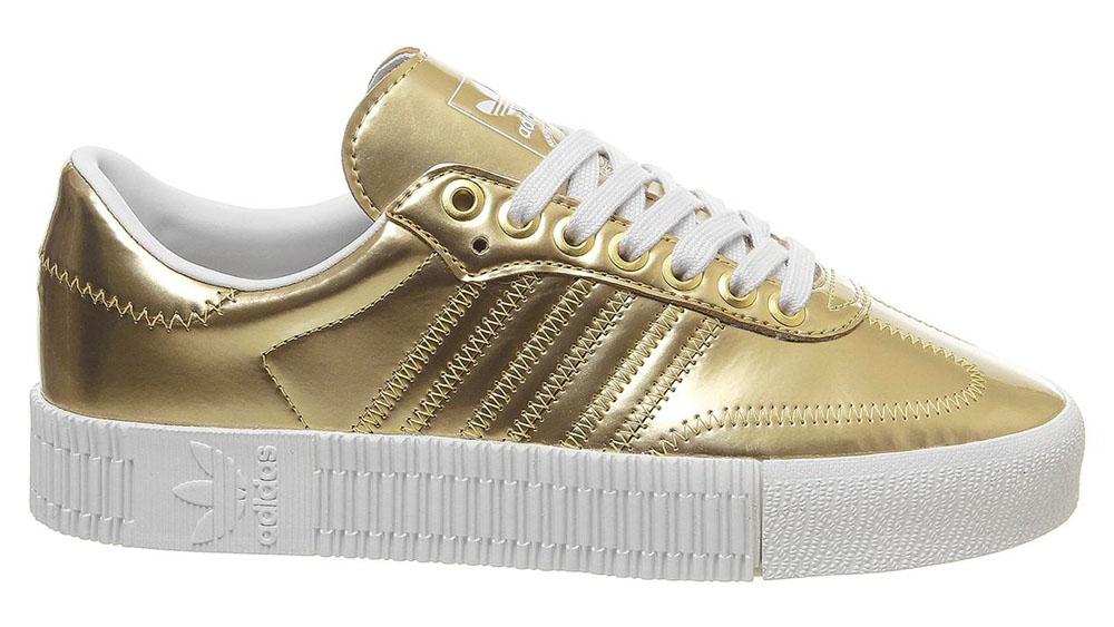 adidas Sambarose Gold White