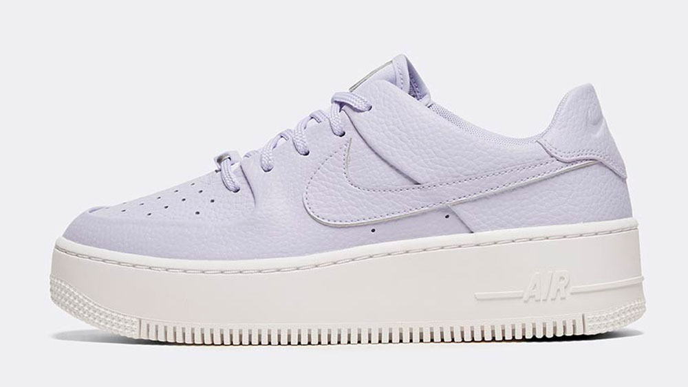 _0003_Nike Womens Air Force 1 Sage Low Trainer _ Oxygen Purple _ Violet