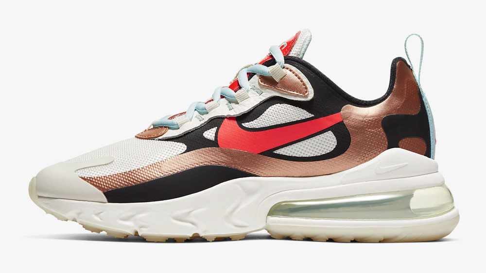 Nike Air Max 270 React Metallic Red Bronze_Teal Tint CT3428-100 side 2