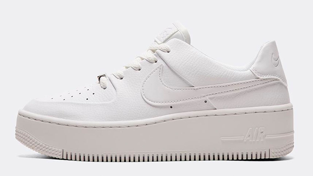 _0007_Nike Womens Air Force 1 Sage Low Trainer _ White_White_White