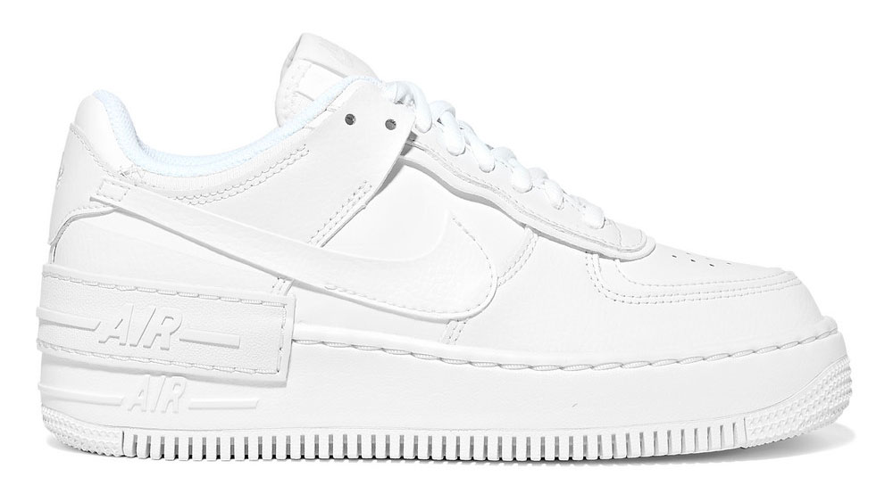 Nike Air Force 1 Shadow leather sneakers