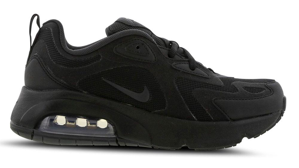 Nike Air Max 200 Triple Black