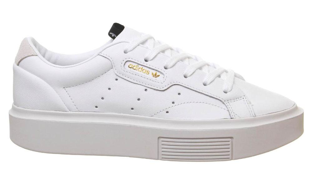 adidas Sleek Bold White