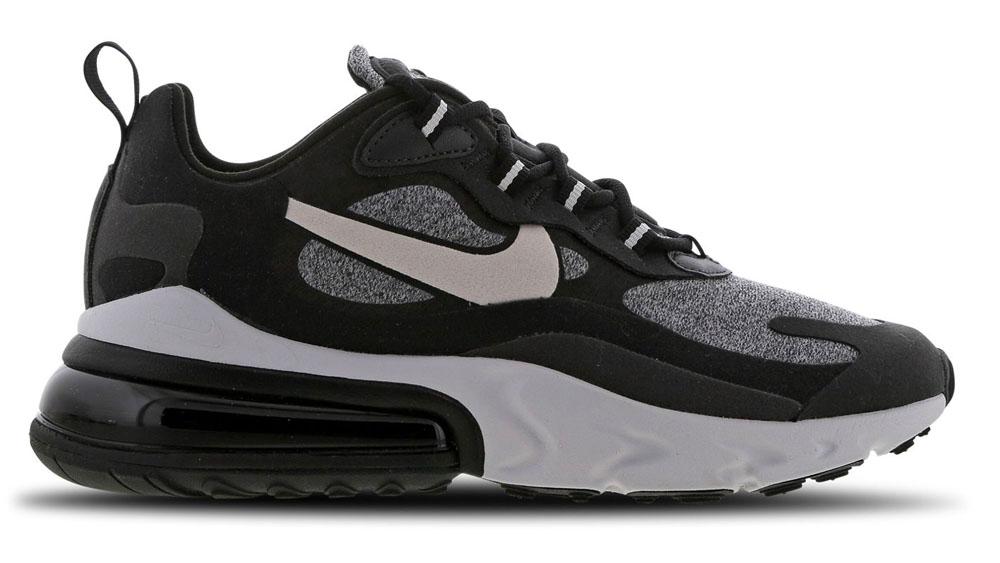 Nike AIr Max 270 React Black Glitter
