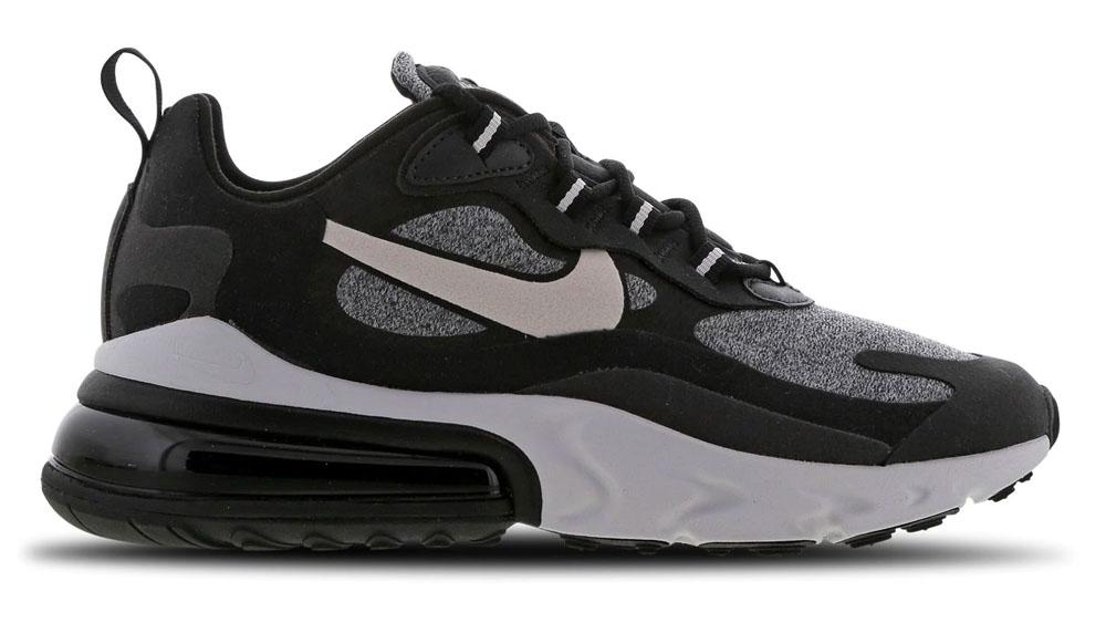 Nike Air Max 270 React Glitter Black