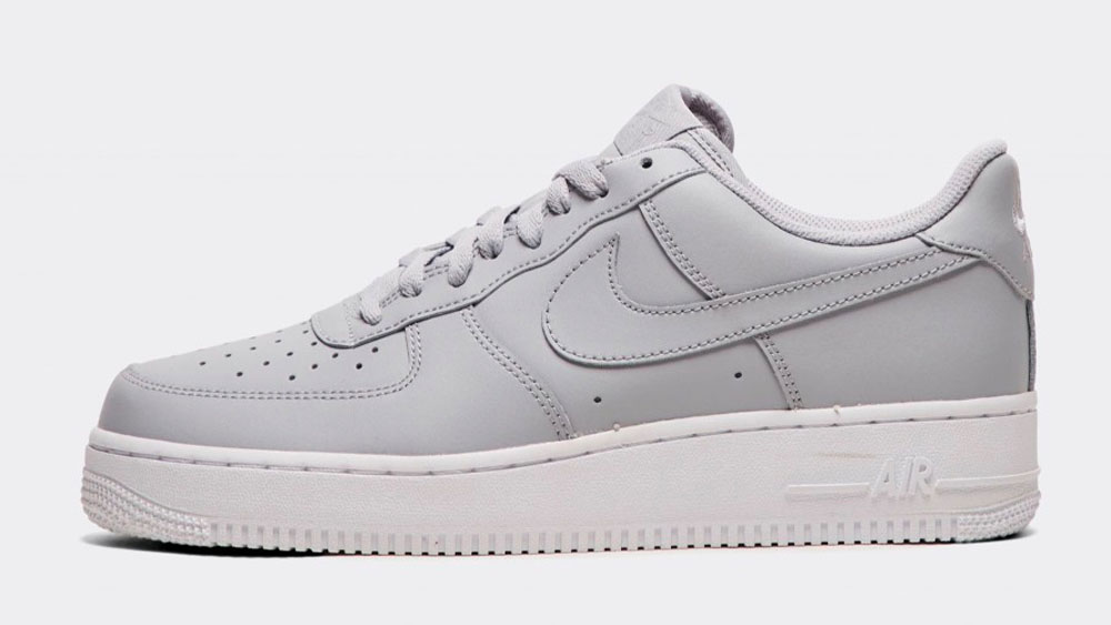 _0012_Nike Air Force 1 '07 Trainer _ Wolf Grey_White_Wolf Grey