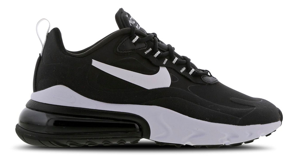 air max 270 on feet black white