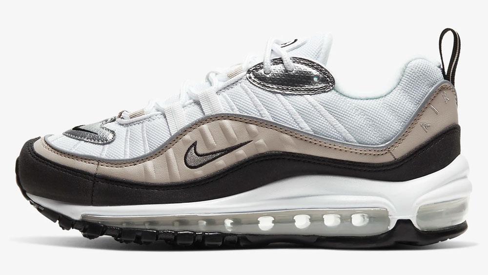 Nike Air Max 98 Bronze White