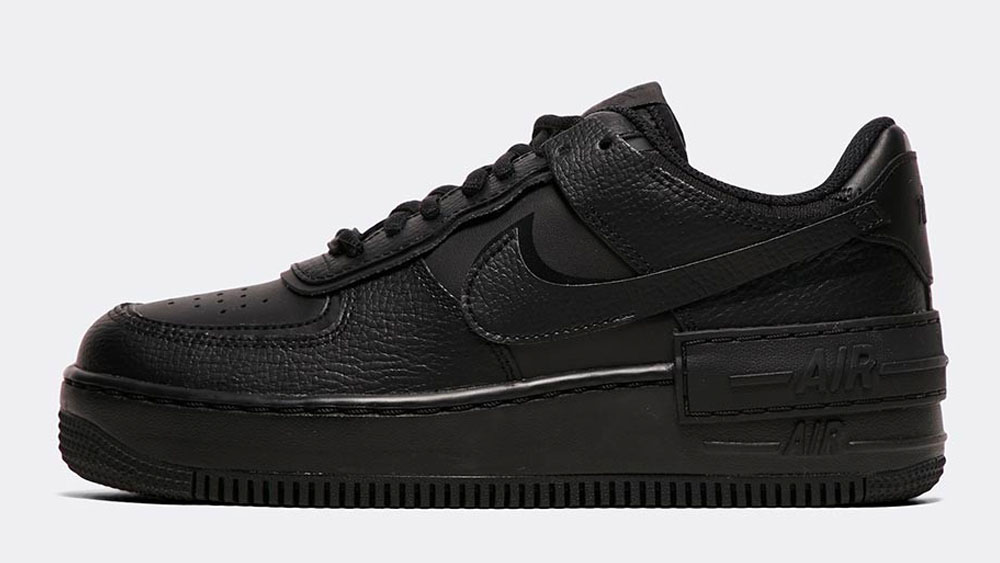 _0016_Nike Womens Air Force 1 Shadow Trainer _ Black _ Black _ Black