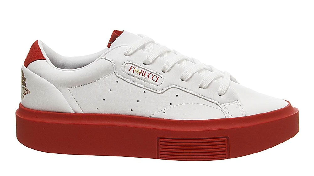 adidas x Fiorucci Sleek Super White Red