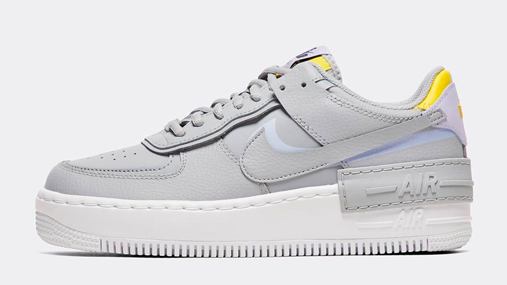 _0017_Nike Womens Air Force 1 Shadow Trainer _ Wolf Grey